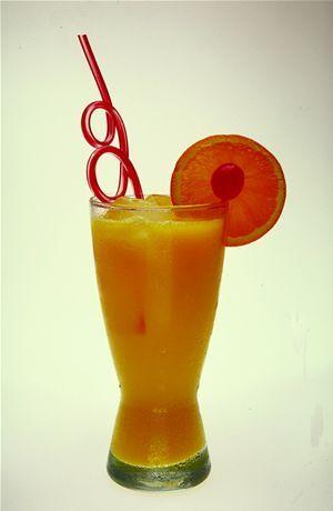 عصير الموز بالبرتقال وصفة عصير
