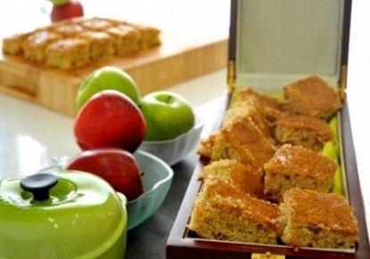 مكعبات التفاح طريقة مكعبات التفاح