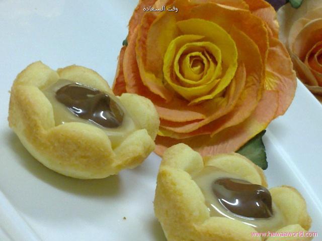 ميني تارت الوردات طريقة تحضير