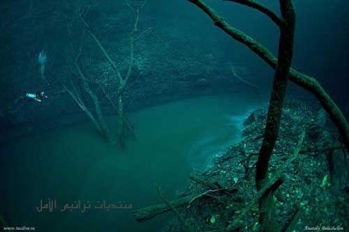 نهر تحت سطح المياه في المكسيك 2013 121231030915SNSL.jpg