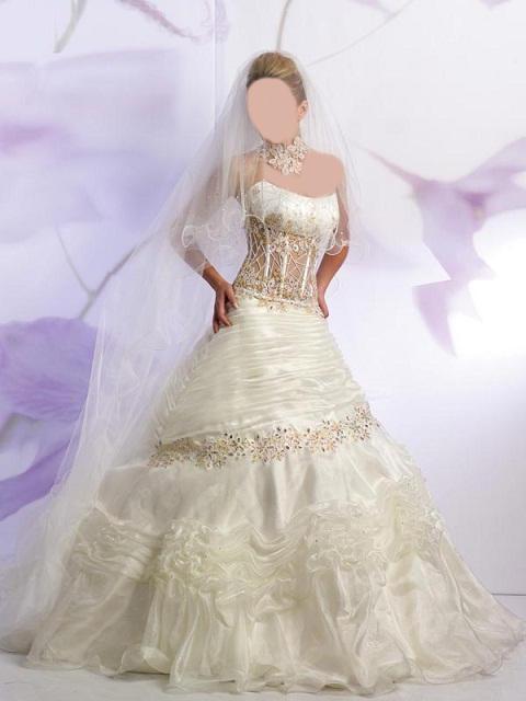 فساتين زفاف وايت 2014 فساتين
