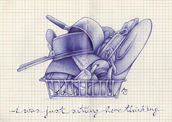 الرسم بقلم جاف 2013 ، صور رسم ابداع 2014 130307232215L0Zs.jpg
