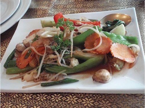 وصفة الخضروات بصوص الصويا 2013